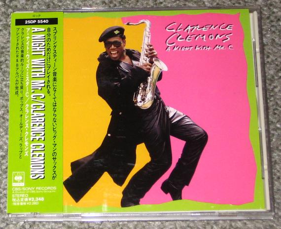 Clarence Clemons/a Night With - Springsteen, Bruce