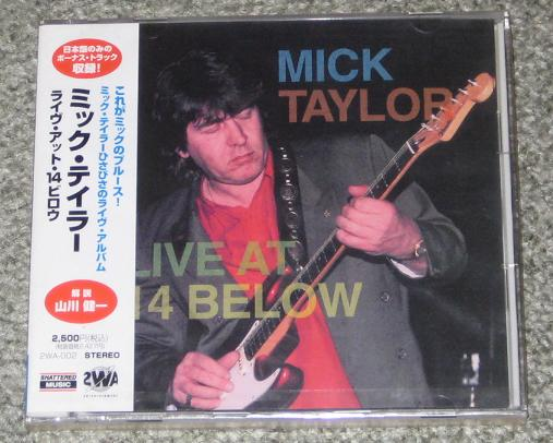 Taylor,Mick Live+At+14+Below CD