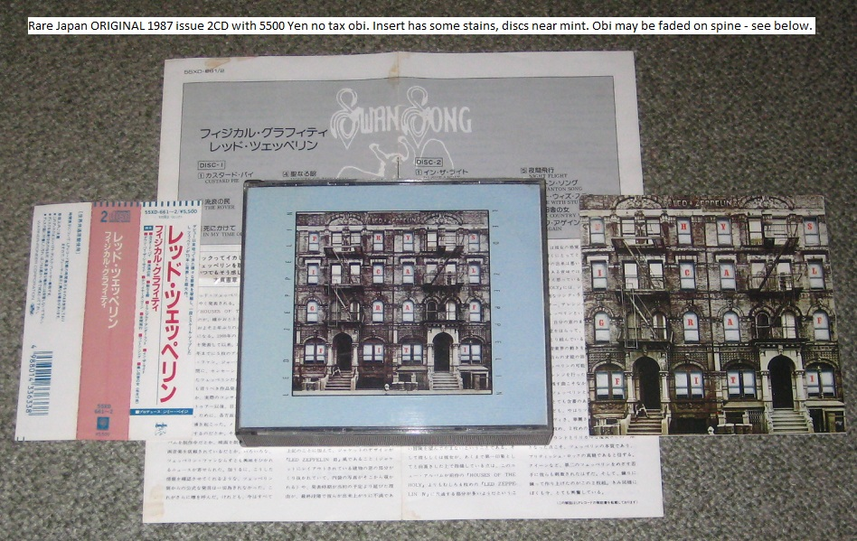 Led Zeppelin - Physical Graffiti - Original