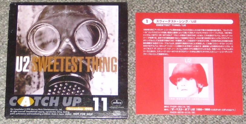 U2 - Catch Up Nov 1998