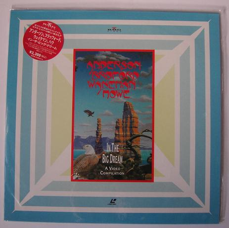 A,B,W & HOWE - In The Big Dream - Laser Disc