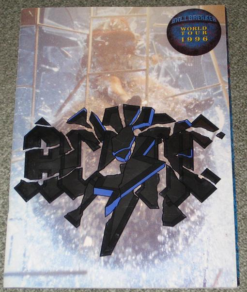 AC/DC - 1996 World tour programme - Concert Program