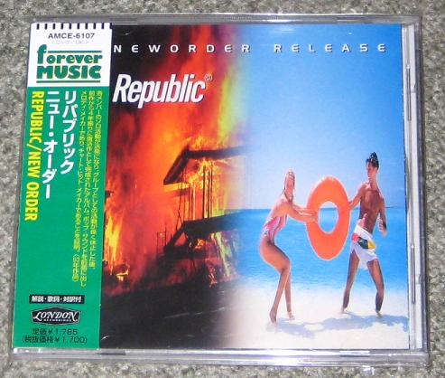 New Order - Republic CD