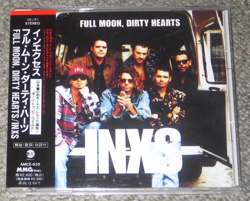INXS - Full Moon Dirty Hearts Single