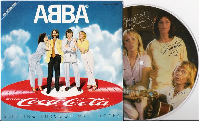 Abba - Slipping Through .. 7 Inch Album