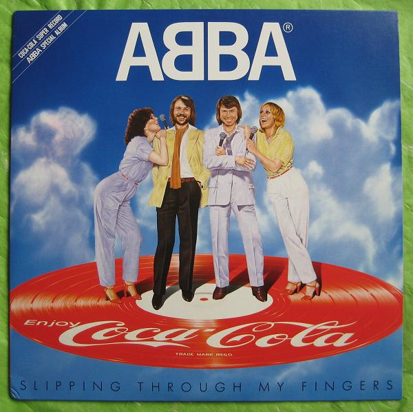 Abba - Slipping Through My Fingers Lp