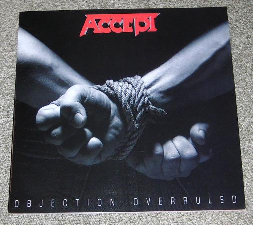 Accept Japan 1993 Tour Book BOOK