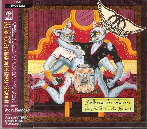 Aerosmith Falling+In+Love CD:5''SINGLE