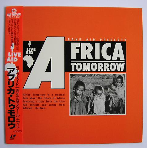 Bowie,David Band Aid - Africa For Tomorrow VIDEO:LASERDISC