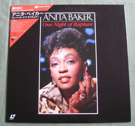Baker,Anita One+Night+Of+Rapture VIDEO:LASERDISC