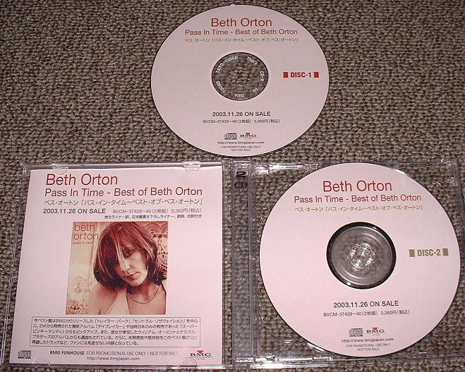 Orton, Beth - Pass In Time - The Best Of
