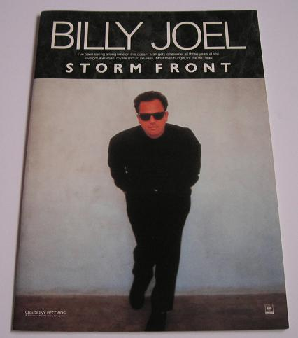 Joel, Billy - Storm Front Promo Book