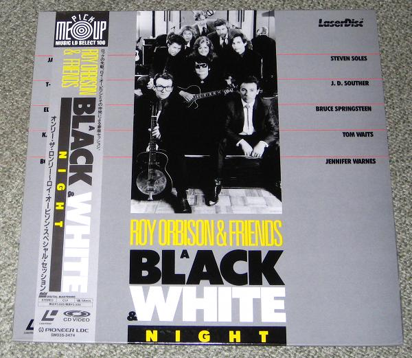 A Black And White Night Reissue