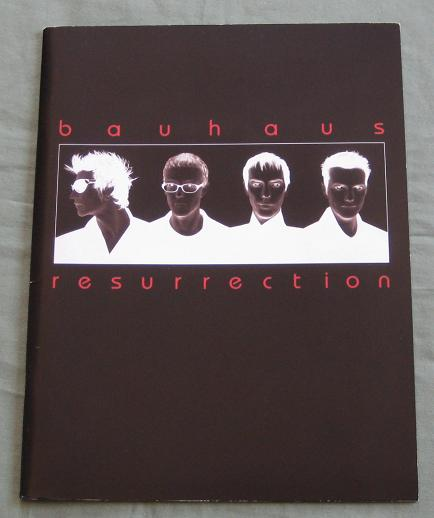 Resurrection 1998 Tour Book