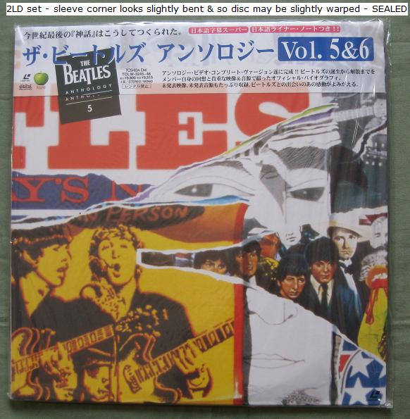 Beatles Anthology - Volume 5 And 6 VIDEO:LASERDISC