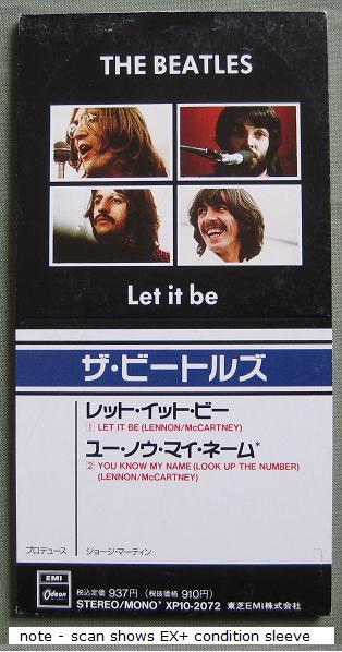 Beatles Let+It+Be CD:3''SINGLE