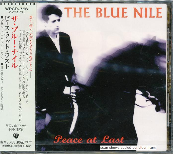 The Blue Nile Peace+At+Last CD