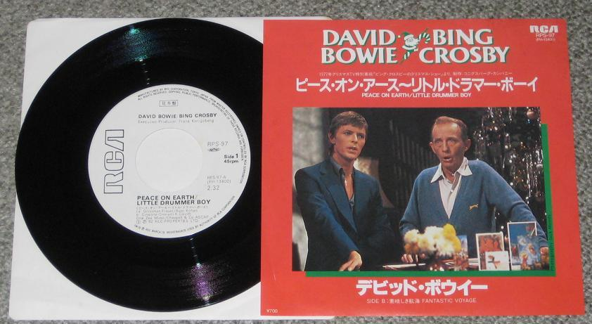 Bowie, David - Peace On Earth (w/ B.crosby) Album