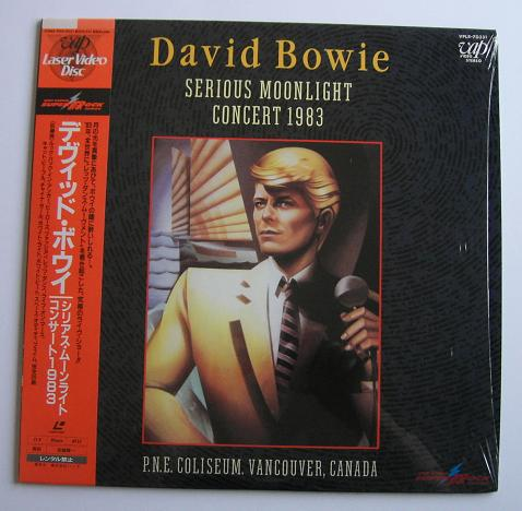 Bowie,David Serious+Moonlight+-+Live+1983 VIDEO:LASERDISC