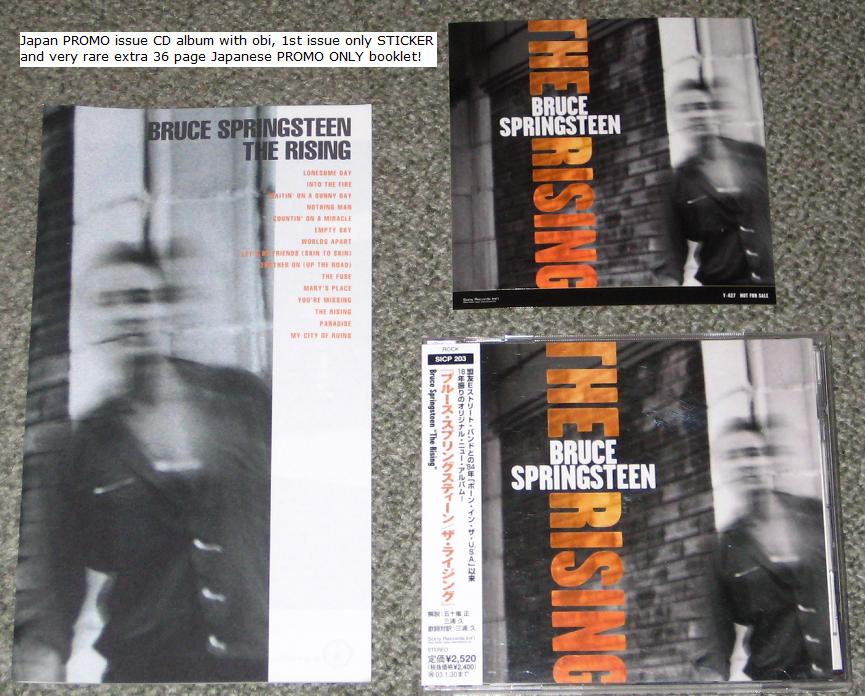 Springsteen, Bruce - The Rising + Promo Booklet