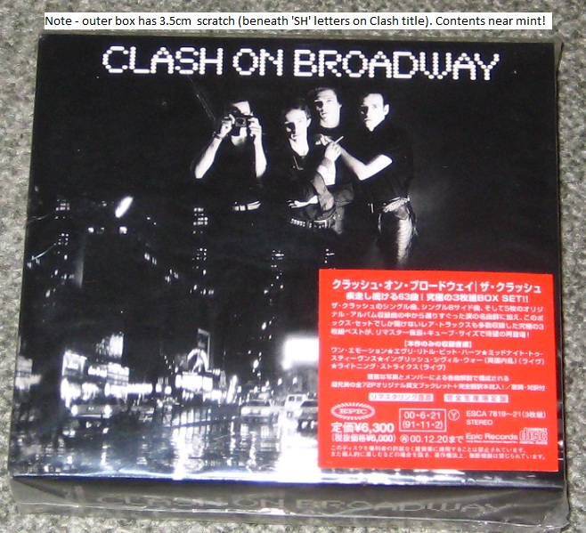 Clash - Clash On Broadway 3cd Box