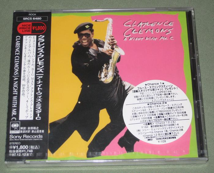 Springsteen, Bruce - Clarence Clemons/a Night With