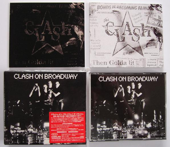 Clash On Broadway 3cd Box - Clash