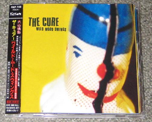 Cure - Wild Mood Swings Single