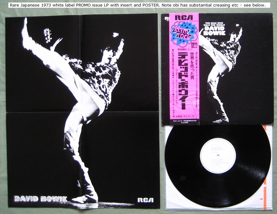 Bowie, David - The Man Who Sold The World Vinyl