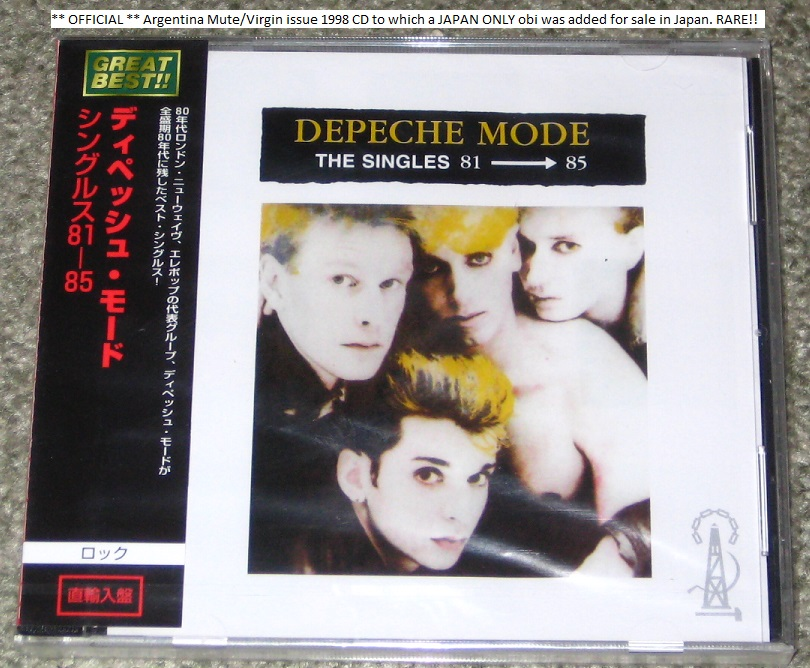 Depeche Mode - The Singles 1981-85 Special!