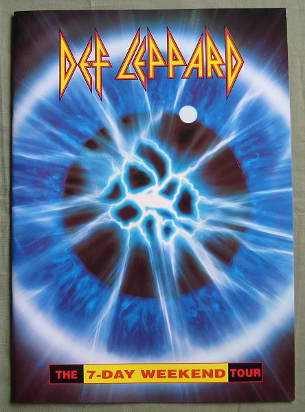 DEF LEPPARD - 7 Day Weekend JAPAN Tour book - Concert Program
