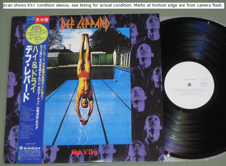 Def Leppard - High 'n' Dry Single