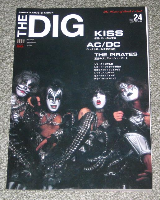 AC/DC - The Dig Kiss & AC/DC special - Magazine