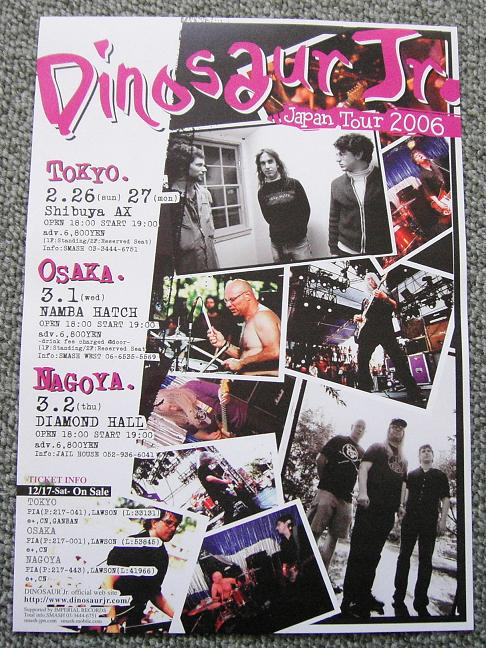 Jap Tour 2006 Handbill