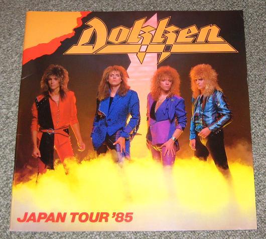 Dokken - Japan 1985 Tour Book