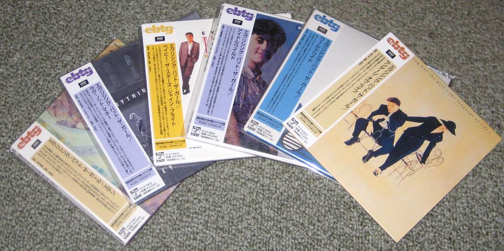 6 X Japan Promo Card Slv Cds