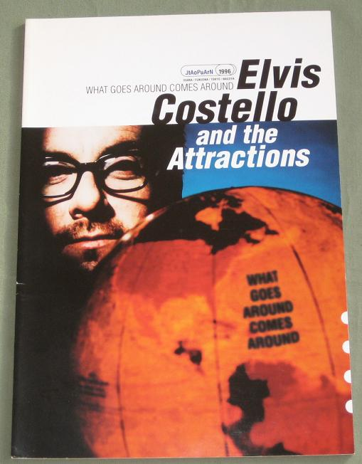 Costello,Elvis Japan 1996 Tour Book BOOK