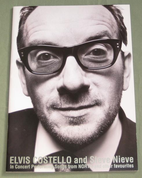 Costello,Elvis Japan 2003 Tour Book + Ticket! BOOK