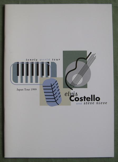Costello,Elvis Japan 1999 Tour Book BOOK