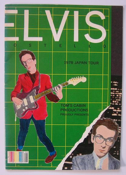 Costello,Elvis Japan 1978 Tour Book BOOK