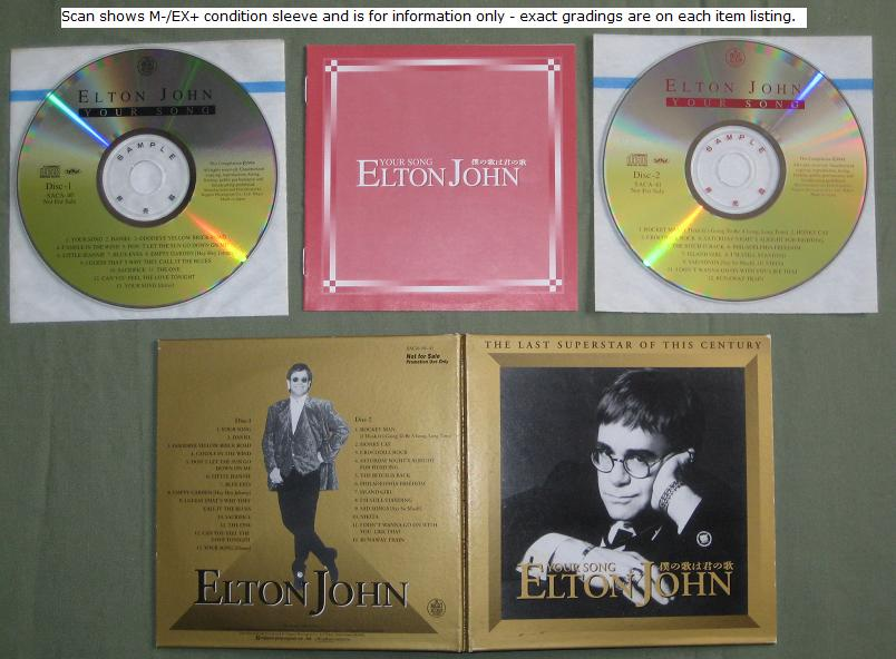 Your Song Promo Only 2cd Set - John, Elton