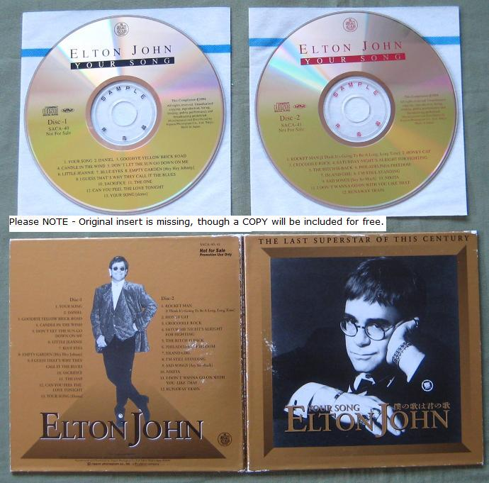 John, Elton - Your Song Promo Only 2cd Set