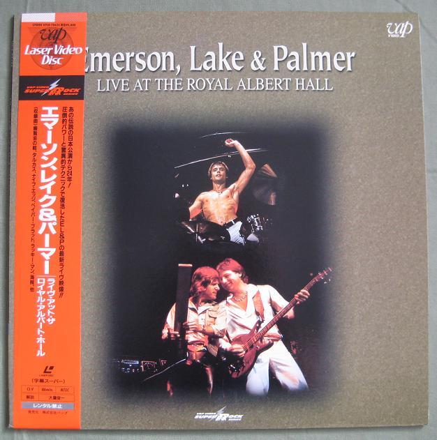 EMERSON, LAKE & PALMER - Live At The Royal Albert - Laser Disc