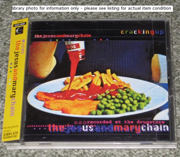 Jesus And Mary Chain Cracking+Up CD:5''SINGLE