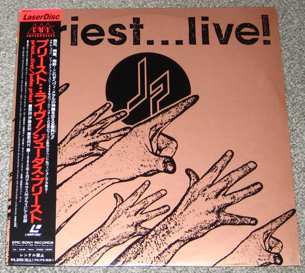 Judas Priest - Priest - Live! Promo Issue