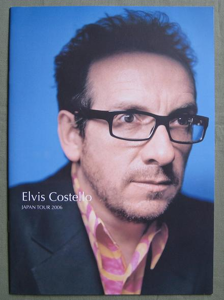Costello,Elvis Japan 2006 Tour Book BOOK