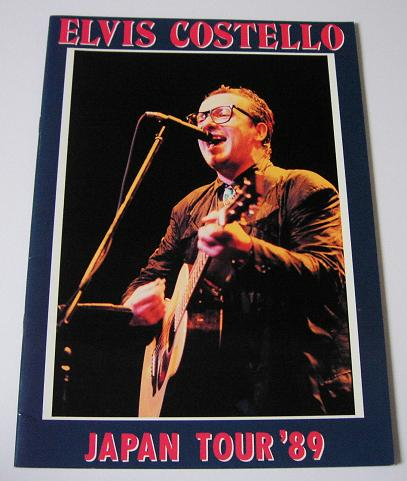 Costello,Elvis Japan 1989 Tour Book BOOK