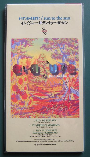Erasure Run+To+The+Sun CD:3''SINGLE