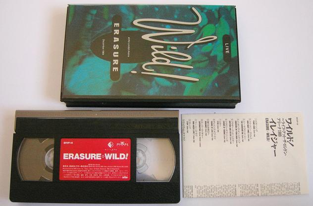 Erasure - Wild - Live At In London 1989
