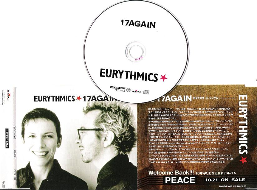 EURYTHMICS - 17 Again - CD
